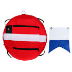 Lovoski Freediving Buoy with Diver Down Flag for Scuba Diving Spearfishing