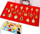 Fairy Tail Key Blade Lucy Keychain Necklace Pendant Cosplay Collection Set 2017