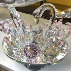 Pair of Swan Crystal Cut Decorative Swarovski Element with Gift Box Christmas UK