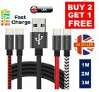 'Heavy Duty Lightning Long Charger Cable For Iphone 5 6 7 8 Xs Max 1m 2m 3m 4m 5m