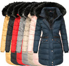 Navahoo Damen Parka winterMantel Winter jacke Outdoorjacke Steppjacke sehr Warm
