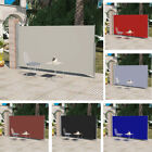 Outdoor Patio Terrace Side Awning Privacy Screen Panel Retractable Roll up 300cm