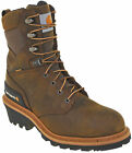Carhartt Mens Waterproof Insulated Soft Toe Logger Work Boots Style CML8169
