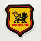 Lion of Judah Sticker Decal Vinyl Rasta Jamaica Bob Marley Dub Reggae Car Skate