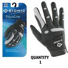 1 x Bionic Mens AquaGrip  Wet Weather Golf Glove - Right Hand - $24.95 ea