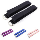 2x Yoga Belt Strap for Beginners Stretching Holding Poses 183cm x 3.8cm Fitness