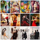 DIY Couples Women Paint By Numbers Kit Digital Oil Painting Art Home Wall Decor