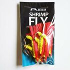 Pucci Red Yellow Shrimp Fly 7/0 12pk