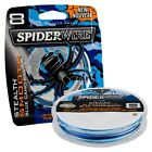 Spiderwire NEW Stealth SMOOTH 8 - BLUE CAMO - 8 Carrier Fishing Braid - All B/S