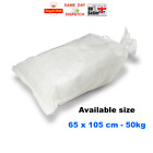50x > 65 x 105cm WOVEN LARGE HEAVY DUTY RUBBLE SAND BAG SACKS POLYPROPYLENE FAST