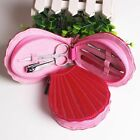Manicure Set In Shells Case Nails Art Pedicure Nail Clippers Cutter Beauty Tools