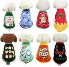 Pet Dog Christmas Autumn Winter Warm Puppy Cat Hoodie Coat Xmas Sweater Outfit