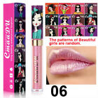 CmaaDu Matte Lipstick Sexy Glitter Shimmer Multicolor Metallic Beauty Lip Gloss.