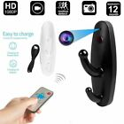 Wireless Spy Camera Motion Detection Hidden Clothes Hook DVR Nanny Cam $15.59 USD on eBay