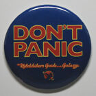 DON'T PANIC MAGNET or PIN BUTTON Retro Vintage Art Hitchhiker's Guide SciFi Fan