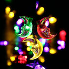 5M 20 LED Solar Powered Outdoor Fairy String Lights Christmas Garden Party Lamp