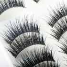 10 Pairs 100% Real Mink 3D Volume Thick Daily False Fake Eyelashes Strip Lashes