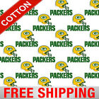 """Green Bay Packers NFL Cotton Fabric - 60"""" Wide - Style# 6026 - Free Shipping!! $15.95 USD on eBay"""