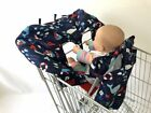 Shopping Cart High Chair Cover Soft Comfort Cushioning Universal Size Protects
