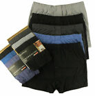 6 Pairs Men Plain Boxer Underwear Classic Cotton Rich Boxers Shorts S - 6XL