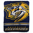 """New Northwest NHL Large Soft Fleece Throw Blanket 50"""""""" X 60"""" 16 Teams Available"""