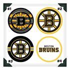 BOSTON BRUINS NHL Edible Image Cake Topper Photo Icing Frosting Sheets $8.5 USD on eBay