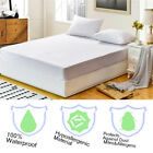 Waterproof Mattress Cover Protector Terry Towel Extra Deep Fitted Sheet Bed Pad image