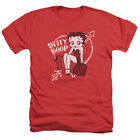 Betty Boop LOVER GIRL Heart Arrow Licensed Adult Heather T-Shirt All Sizes $27.44 USD on eBay