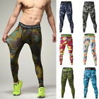 Men Tight Leggings Compression Base Layer Pants Gym Sport Training Long Trousers