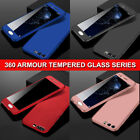 For Huawei P20 Lite Pro 360° Full Body Shockproof Case Slim Cover+Tempered Glass