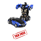Robot Car Transformers Kids Toys For Boys Toddler Vehicle Cool Toy Holiday Gift