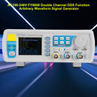 FY6800 30/60MHz Function Arbitrary Waveform Pulse DDS Signal Generator 2-CH inm