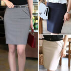Women High Waist Pencil Skirt OL Ladies Clothing Slim Skirt Formal Office Work