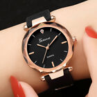 Fashion Womens Lady Casual Watches Geneva Silica Band Analog Quartz Wrist Watch image