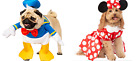 DISNEY STORE PET ( DOG) COSTUMES MULTIPLE CHARACTERS SIZE MEDIUM  NEW IN BAG
