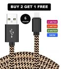 Long Braided USB Quick Charger Data Charging Cable Lead For iPhone 6s 7 8 6 5s X <br/> SUPER FAST CHARGING | 18 MONTHS WARRANTY | BEST SELLER