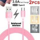 2x SPEED Charging Type-C USB C Sync Cable Cord Charger for Nintendo Switch NX NS