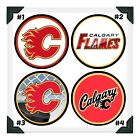 CALGARY FLAMES NHL Edible Image Cake Topper Photo Icing Frosting Sheets $8.5 USD on eBay
