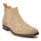 NIB NEW Men's SONOMA Goods for Life Kristopher Suede Chelsea Boots Shoes Beige
