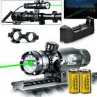 Tactical Military Green Dot Laser Sight Rifle Gun Hunt Scope Rail Remote SwitchLights & Lasers - 106974
