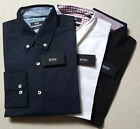 Men's Hugo Boss Long Sleeve Collard Poplin Shirt Regular Fit BNWT