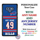 Buffalo Bills A18 Personalized Football Phone Case Cover fits Samsung LG etc