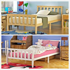 Panana 3FT SINGLE BED FRAME SOLID PINE WOOD NATURAL OR WHITE COLOR