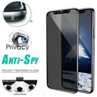 Anti-Spy Tempered Glass Protector Full Coverage Film For Iphone XS XS Max XR Hot