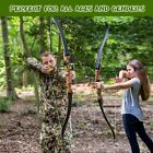 Takedown Recurve Bow and arrow Archery Hunting bow 15-55lb. Right & Left handed
