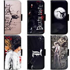 PIN-1 Anime Death Note Phone Wallet Flip Case Cover HTC Nokia Oppo Xiaomi