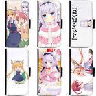 Anime Miss Kobayashi's Dragon Maid Phone Wallet Flip Case Cover for Samsung