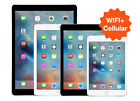 UNLOCKED iPad 2 3 4 5th 6 Air 2  WIFI LTE  16GB 32GB 64GB 128GB Black White Gold
