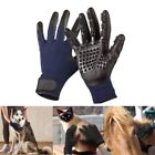 NEW Pet Grooming Gloves Dog Cat Clean Massage Brush Hair Bath Glove Shower Tool