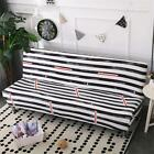 Stretch Sofa Bed Cover Full Folding Armless Elastic Futon Slipcover Couch Q369